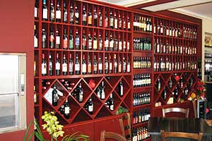 Refrigerated food furniture Wines Salami Hams Cheeses LE POTAZZINE