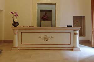 Italian hotel reception furniture HOTEL ROSSINELLI
