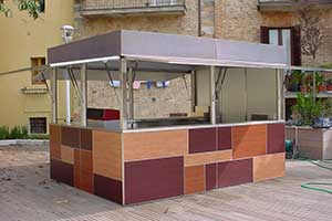 Bar furniture Modern Italian Style Custom and Contract CHIOSCO