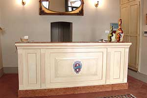 Italian hotel reception furniture