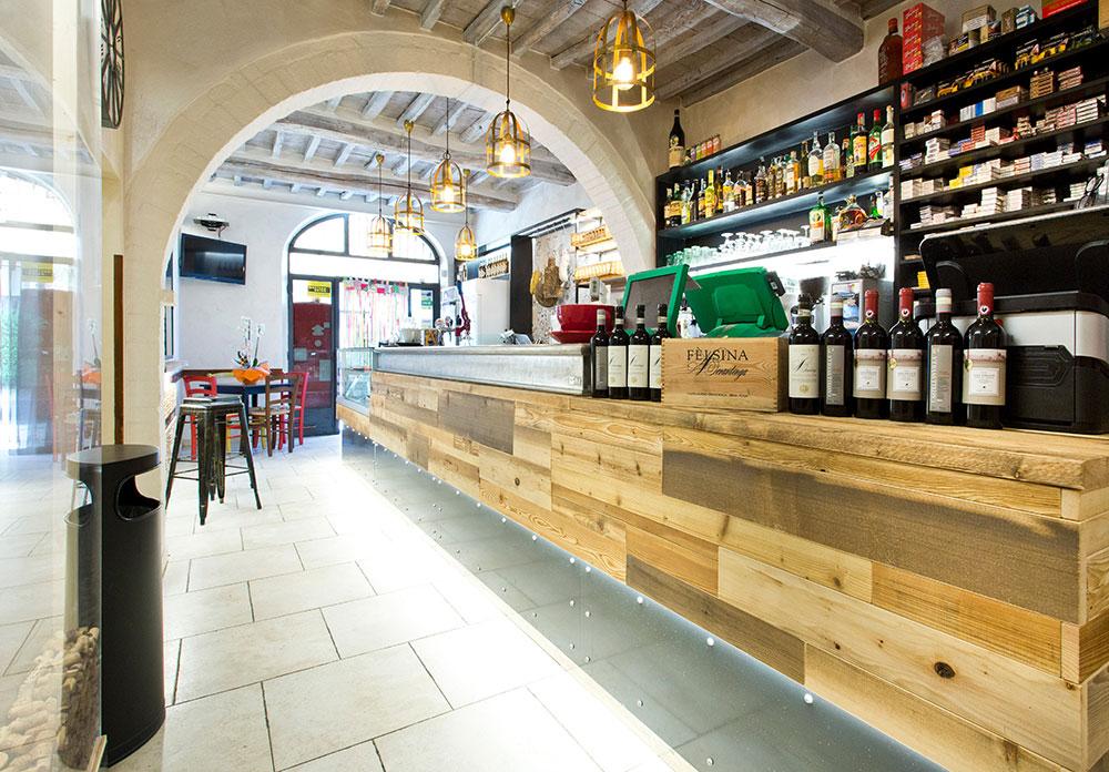Arredamento bar moderno banconi bar omif siena for Taverna arredamento