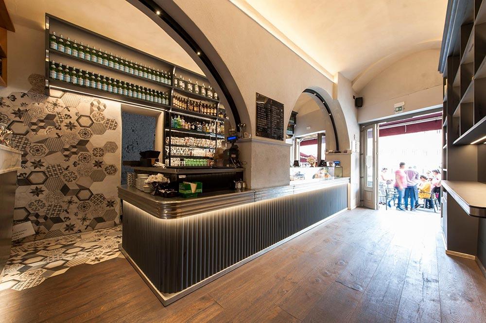 Arredamento bar moderno banconi bar omif siena for Arredamento pizzeria moderno