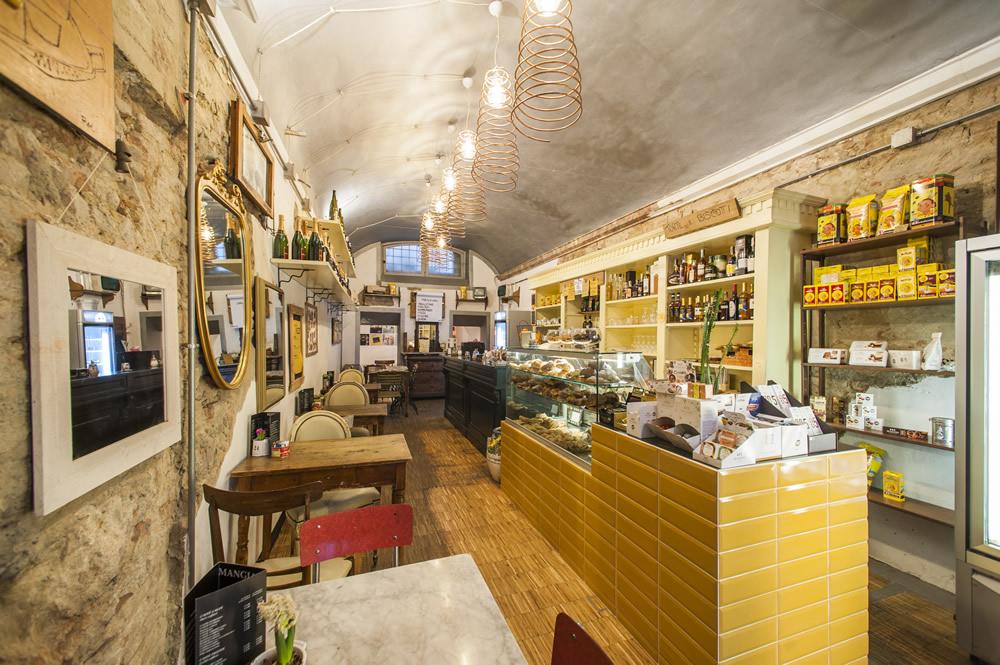 Arredamento bar moderno banconi bar omif siena for Arredamento salumeria