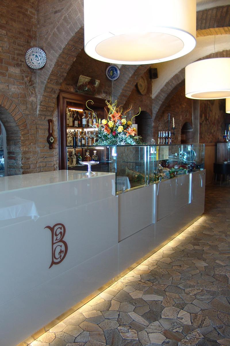 Realizzazione arredi Hotel Bel Soggiorno - San Gimignano